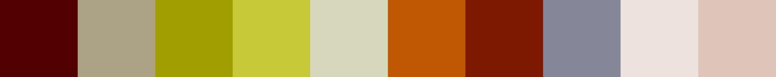 87 Quiria Color Palette
