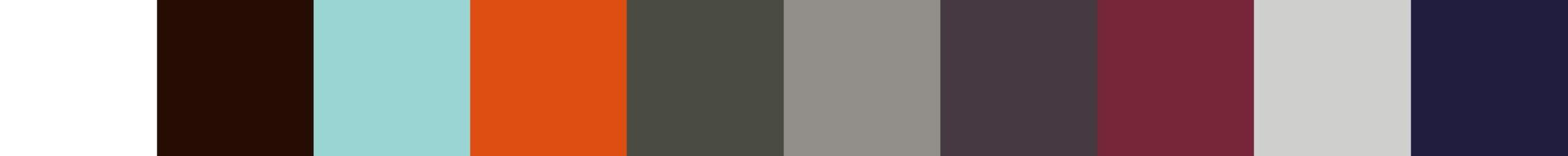 95 Dozalla Color Palette