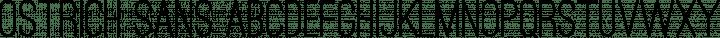 Ostrich Sans Regular