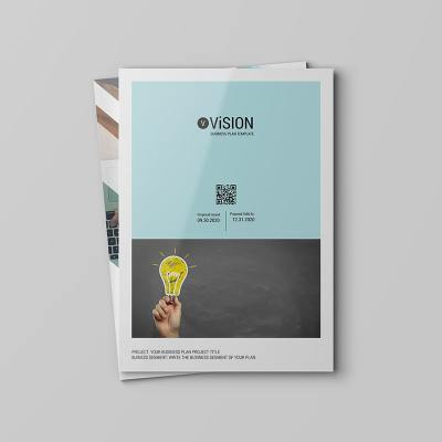 ViSION Business Plan Template for Adobe inDesign and Microsoft Word