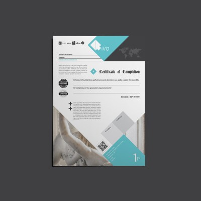 RiVO Certificate of Completion Template