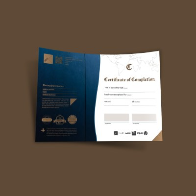 XeMOR Recognition Certificate Template