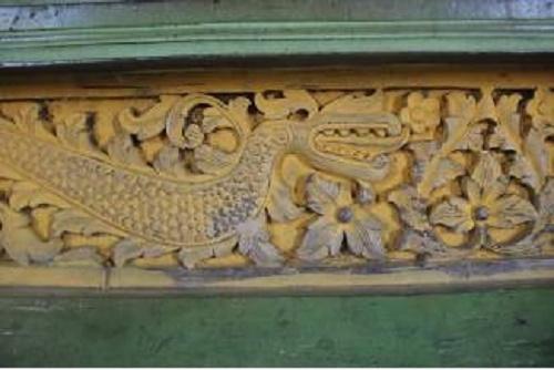 Makna Ukiran Naga di Istana Rokan