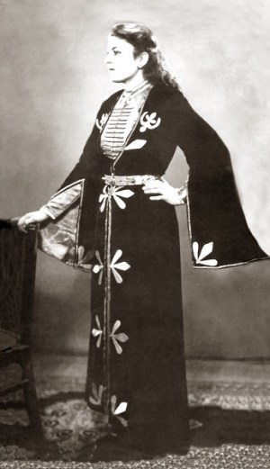 Maisie Yagan in Traditional Circassian Dance Costume