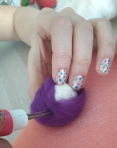 keçe iğneleme catnipli kedi topu yapımı
