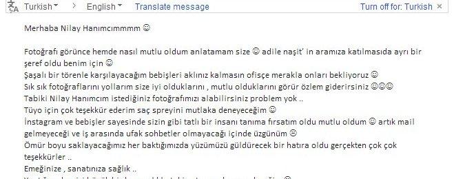 Teşekkürler Pınar hanım :)