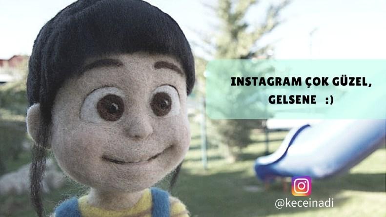 keçe inadı instagram takip et sosyal medya