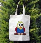 pufidik bez çantalar - keçe inadı - keçe iğneleme çanta yapımı hobi kiti - baykuş