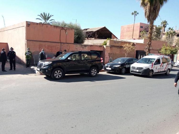 بالصور| استنفار أمني قبيل وصول جرعات لقاح كورونا إلى مراكش