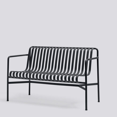 HAY Palissade Dining Bench Antracite