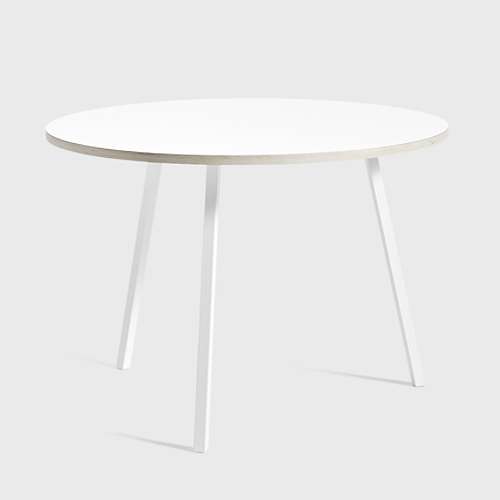 HAY Loop Stand Round Table white 120 cm