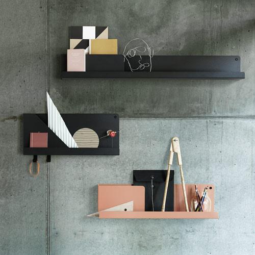 Muuto Folded Shelf Small Grey 51cm