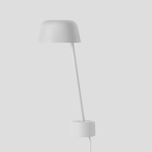 Muuto Lean Grey Wandlamp