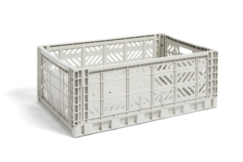 Hay Colour Crate L light grey