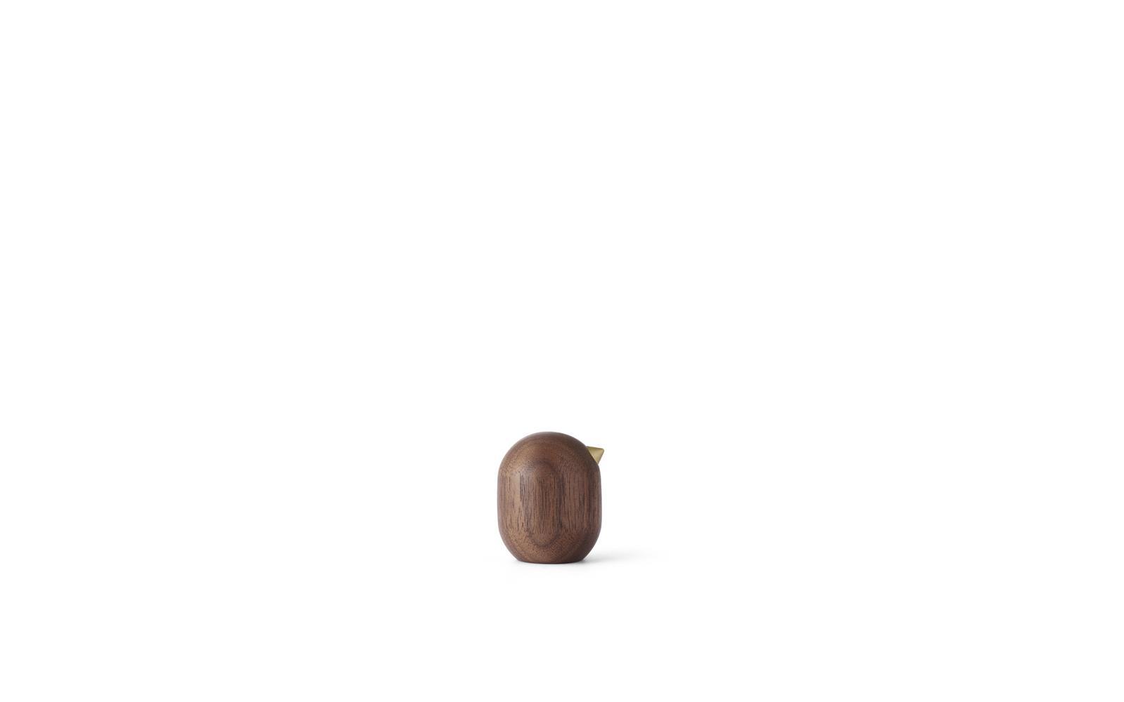 Little bird 4,5 cm walnut