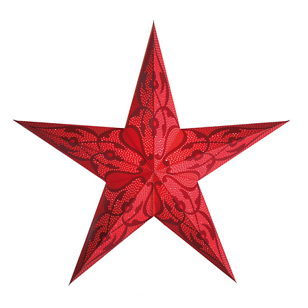 Kerstster damascus red
