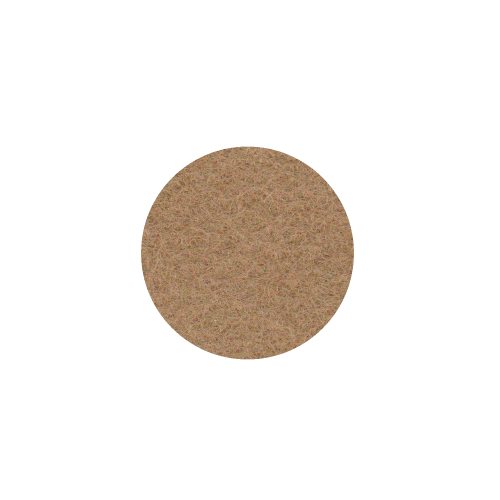 Onderzetter 9cm Caramel 38