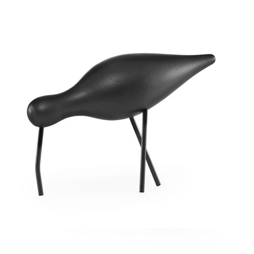 Shorebird large black/black