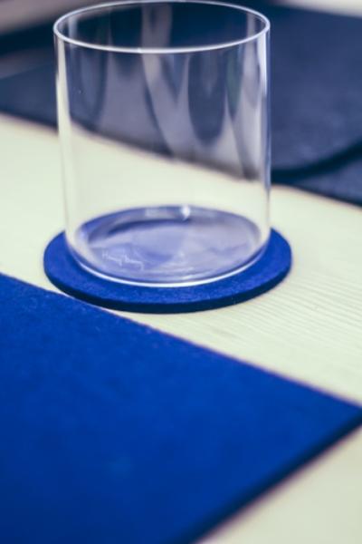 Onderzetter 9cm Blue 10