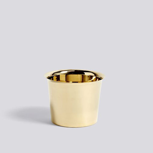 HAY Botanical Pot M Brass