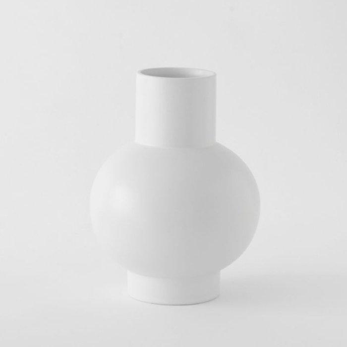 Raawii Extra Large Vase Strøm Vaporous Grey