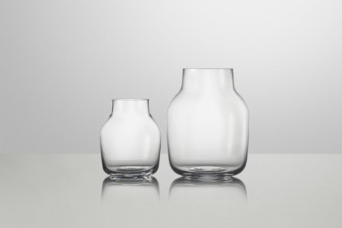 Muuto Silent Vase Small Clear UITLOPEND