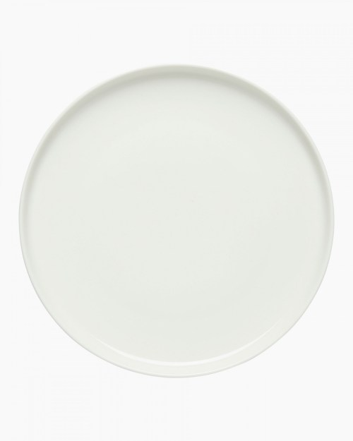 Oiva plate 20 cm wit