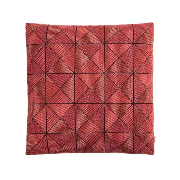Tile cushion tangerine 50 x 50 cm