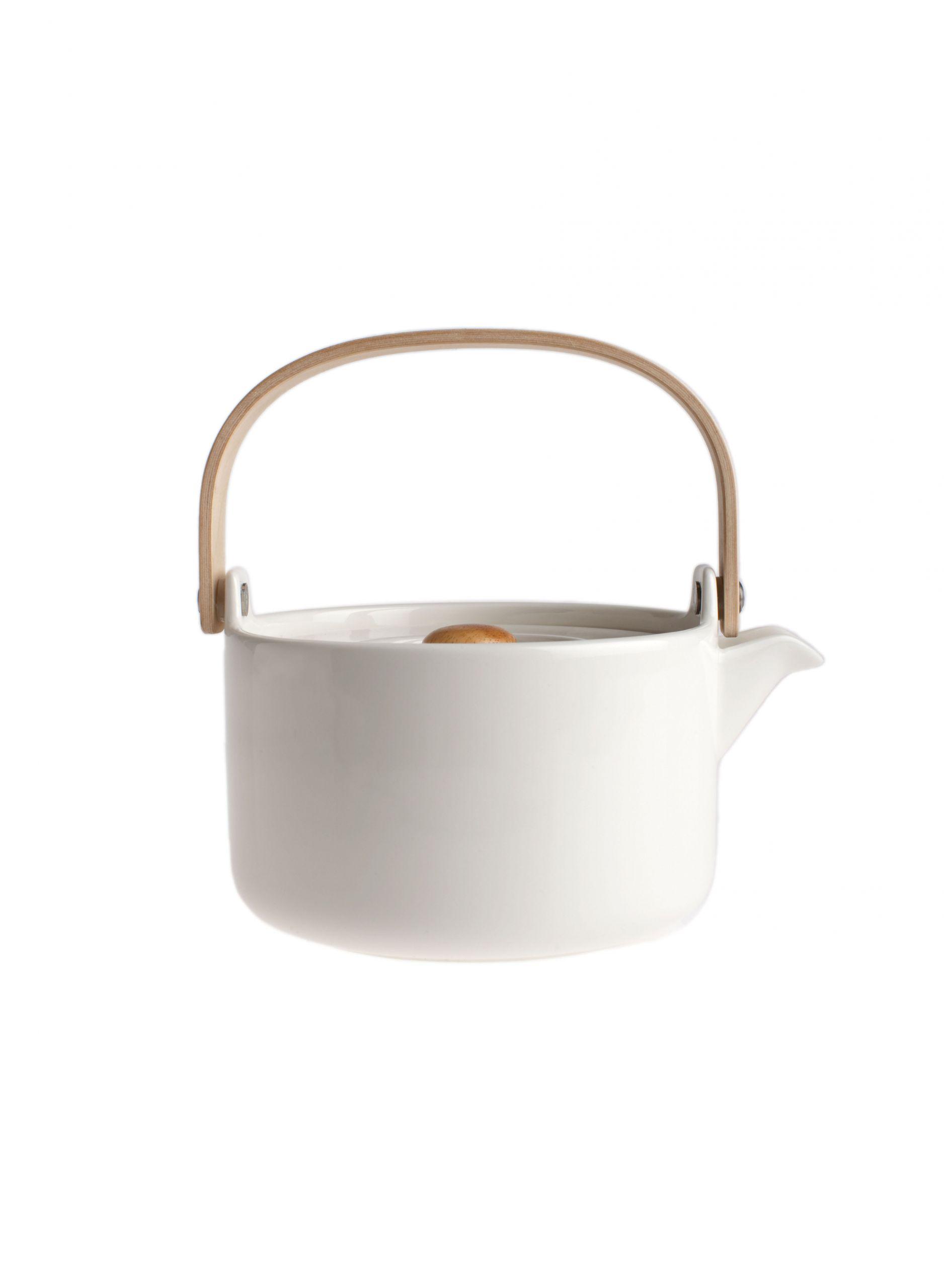 Marimekko Teapot Oiva White