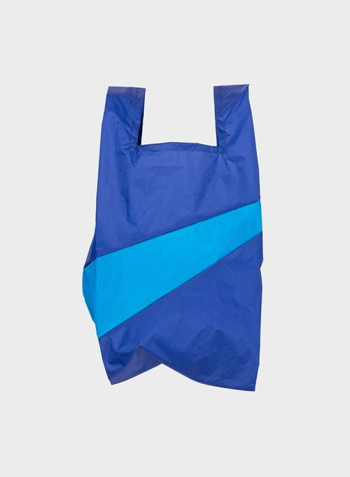 Shoppingbag 2006 electric blue & sky blue M