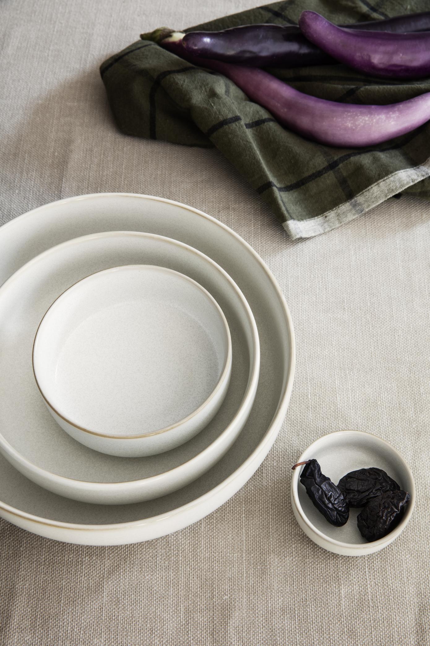 Sekki Plate - Large - Cream