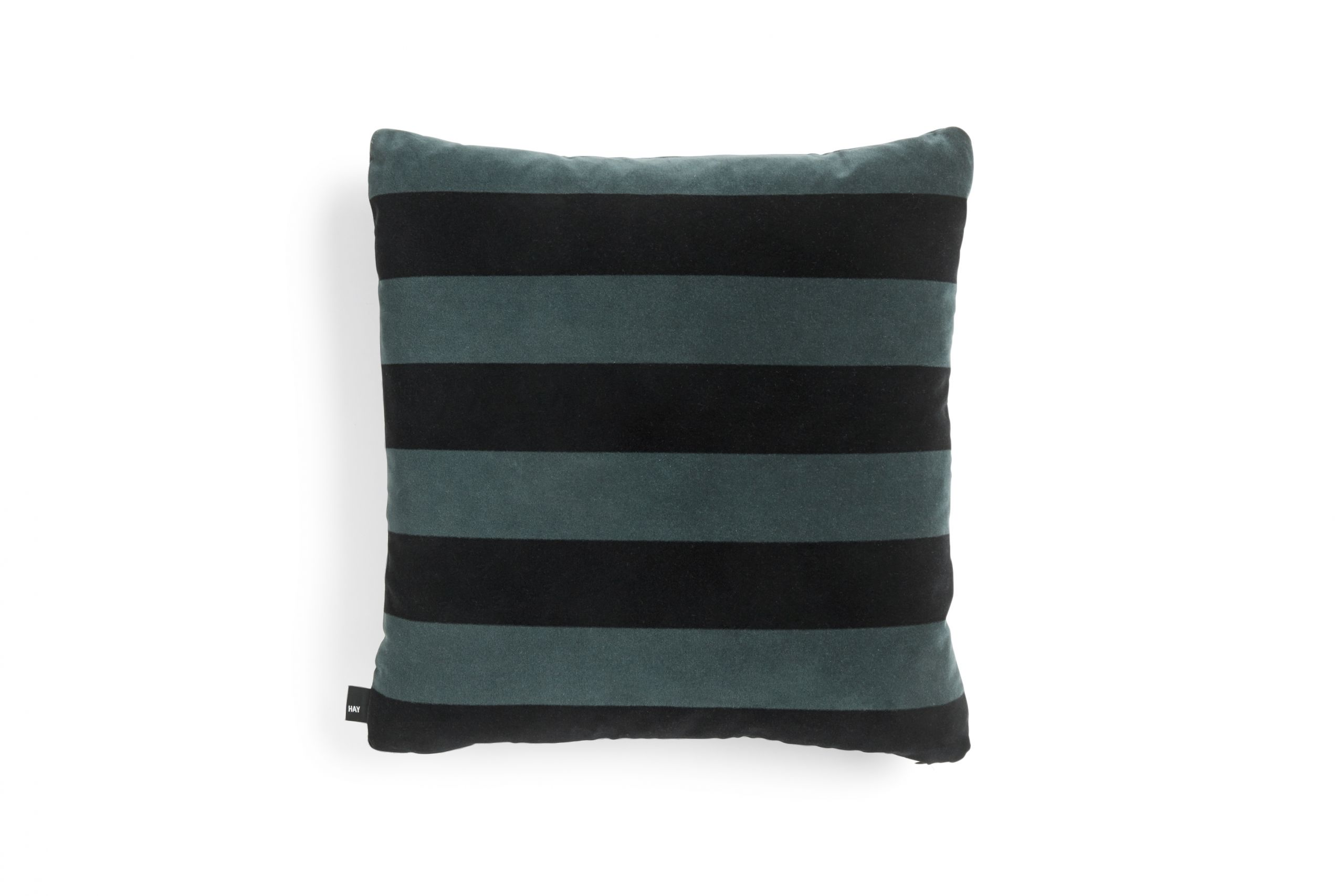 HAY Soft Stripe cushion 50x50 Hunter