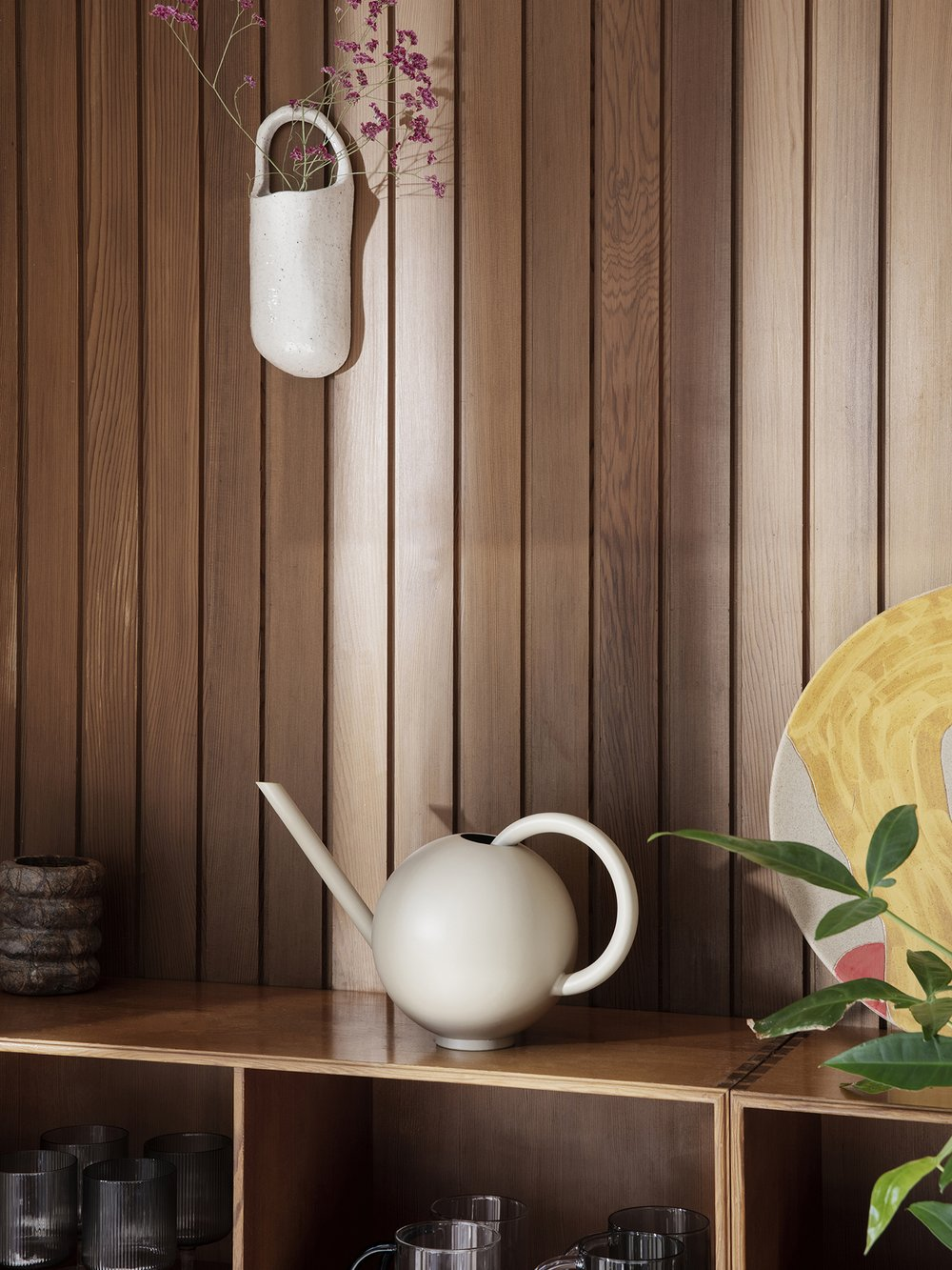 Ferm Living Orb Watering Can Cashmere