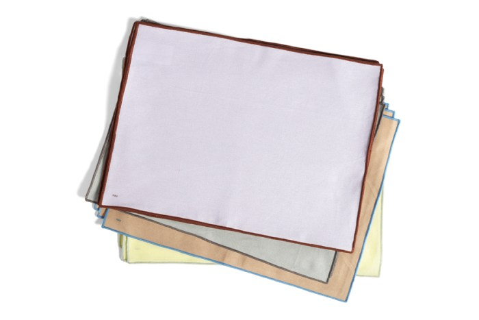 Hay Contour Placemat set of 4 Grey