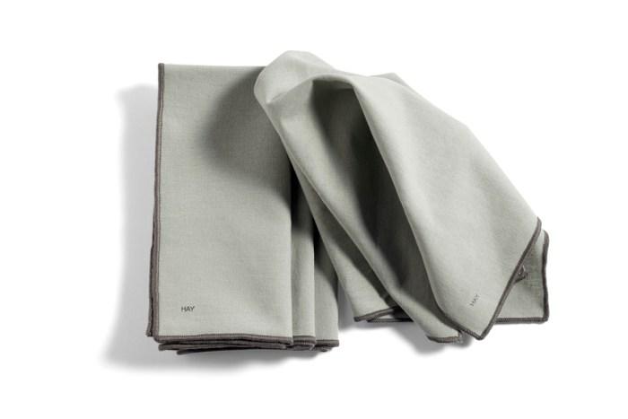 Hay Contour Napkin set of 4 Grey