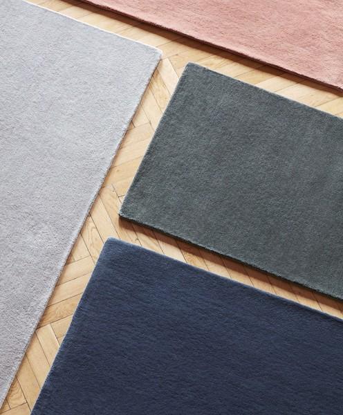 Raw Rug NO2 200 x 300 cm Midnight blue