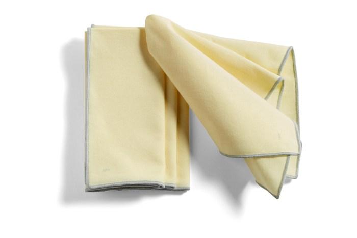 Hay Contour Napkin set of 4 Lemon
