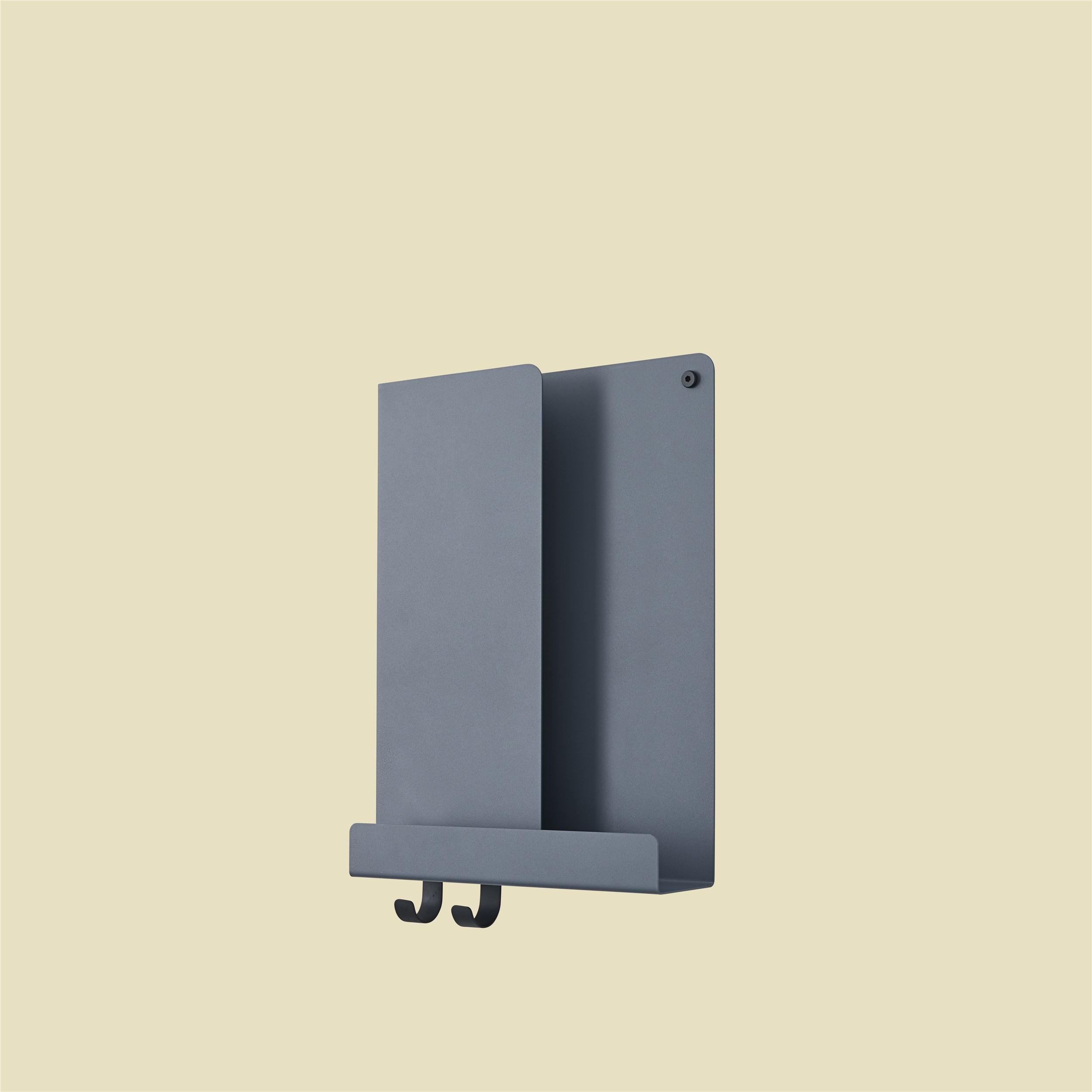 Muuto Folded Shelf Blue Grey 29,5cm