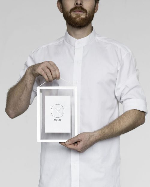 Moebe Frame A5 White