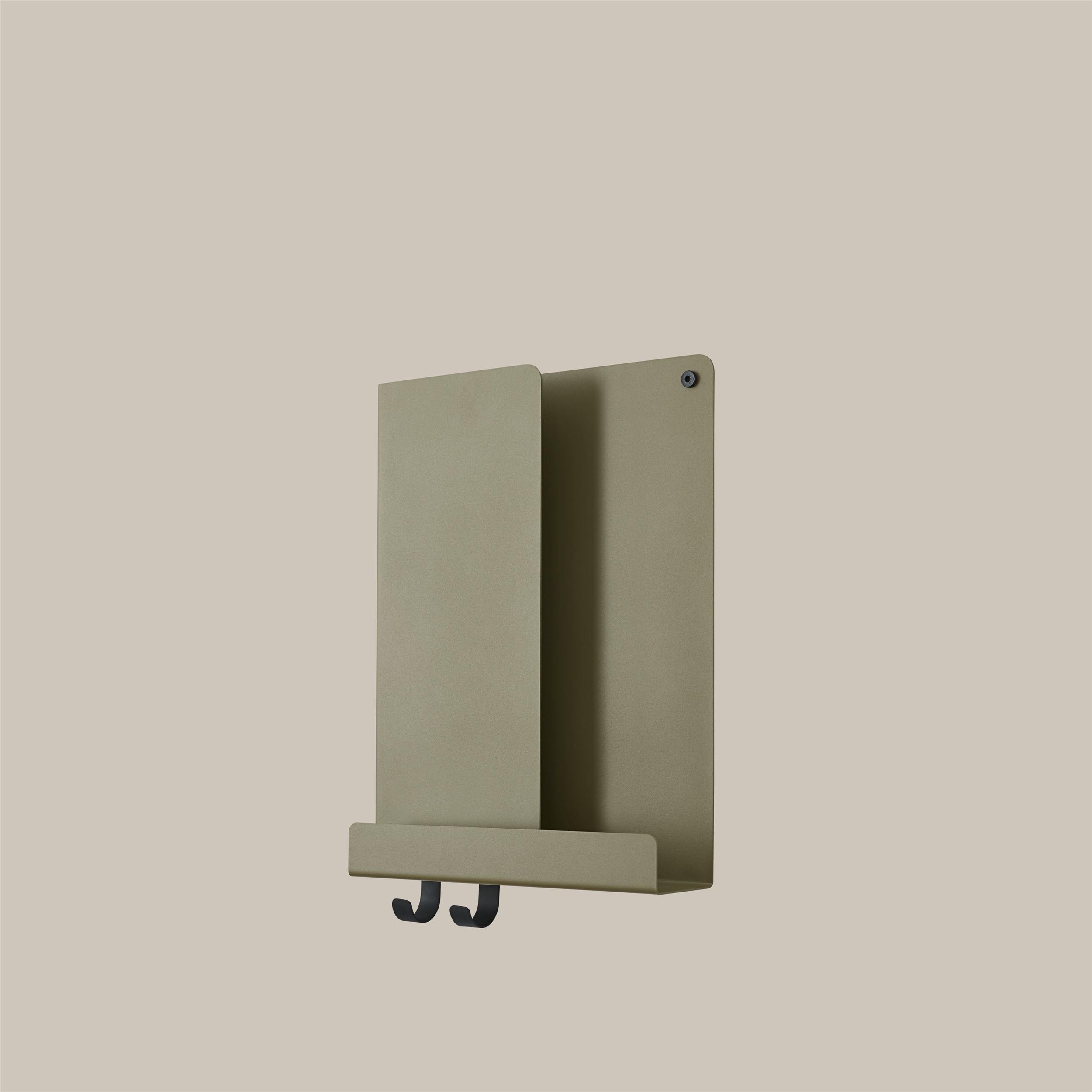 Muuto Folded Shelf olive 29,5cm