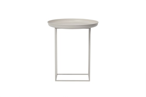 NORR11 Duke Side Table Small Khaki Grey