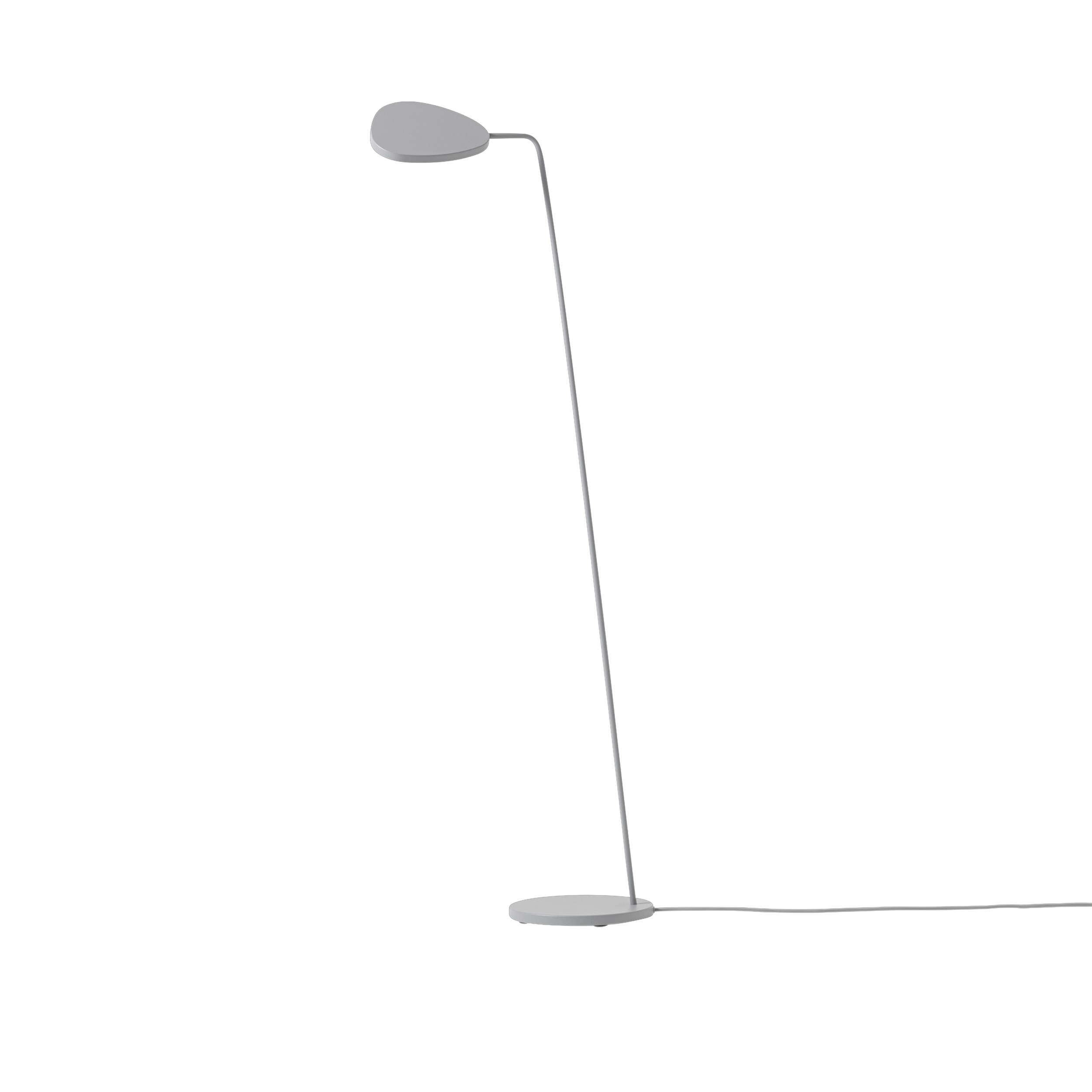 Muuto Leaf Floor Lamp Grey
