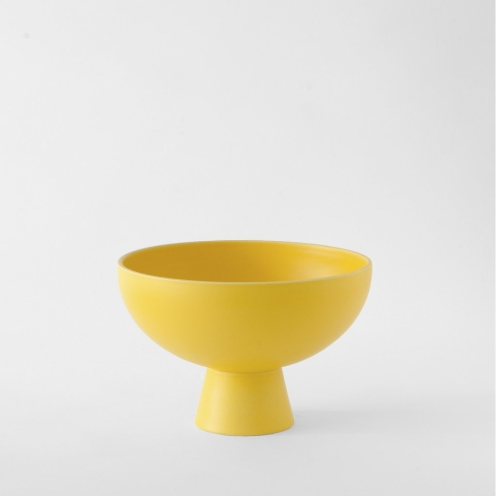 Raawii Large Bowl Strøm Freesia Yellow