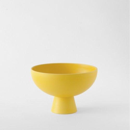 Raawii Large Bowl Strøm Freesia Yellow