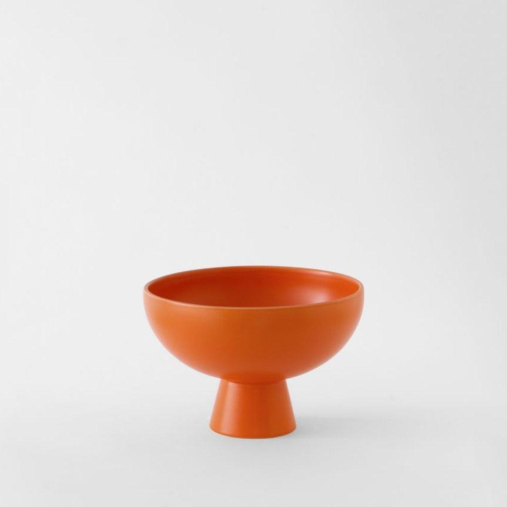 Raawii Medium Bowl Strøm Vibrant Orange