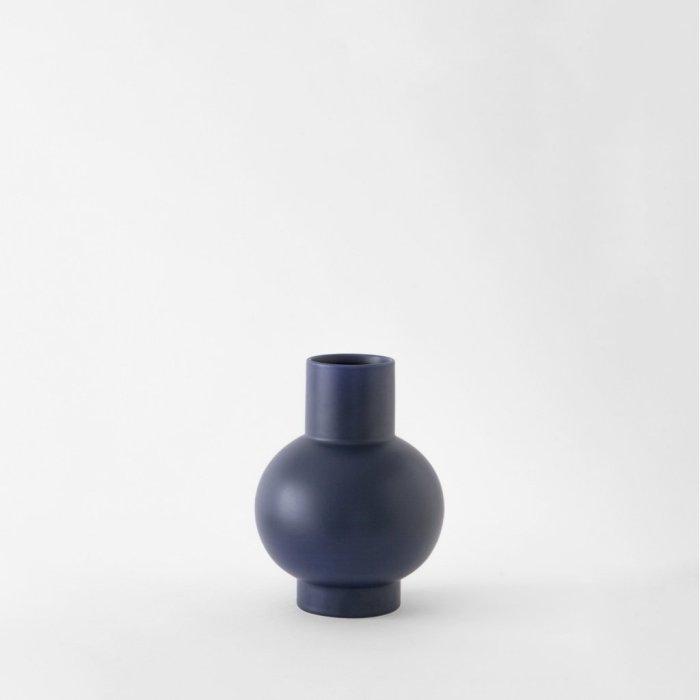 Raawii Small Vase Strøm Blue
