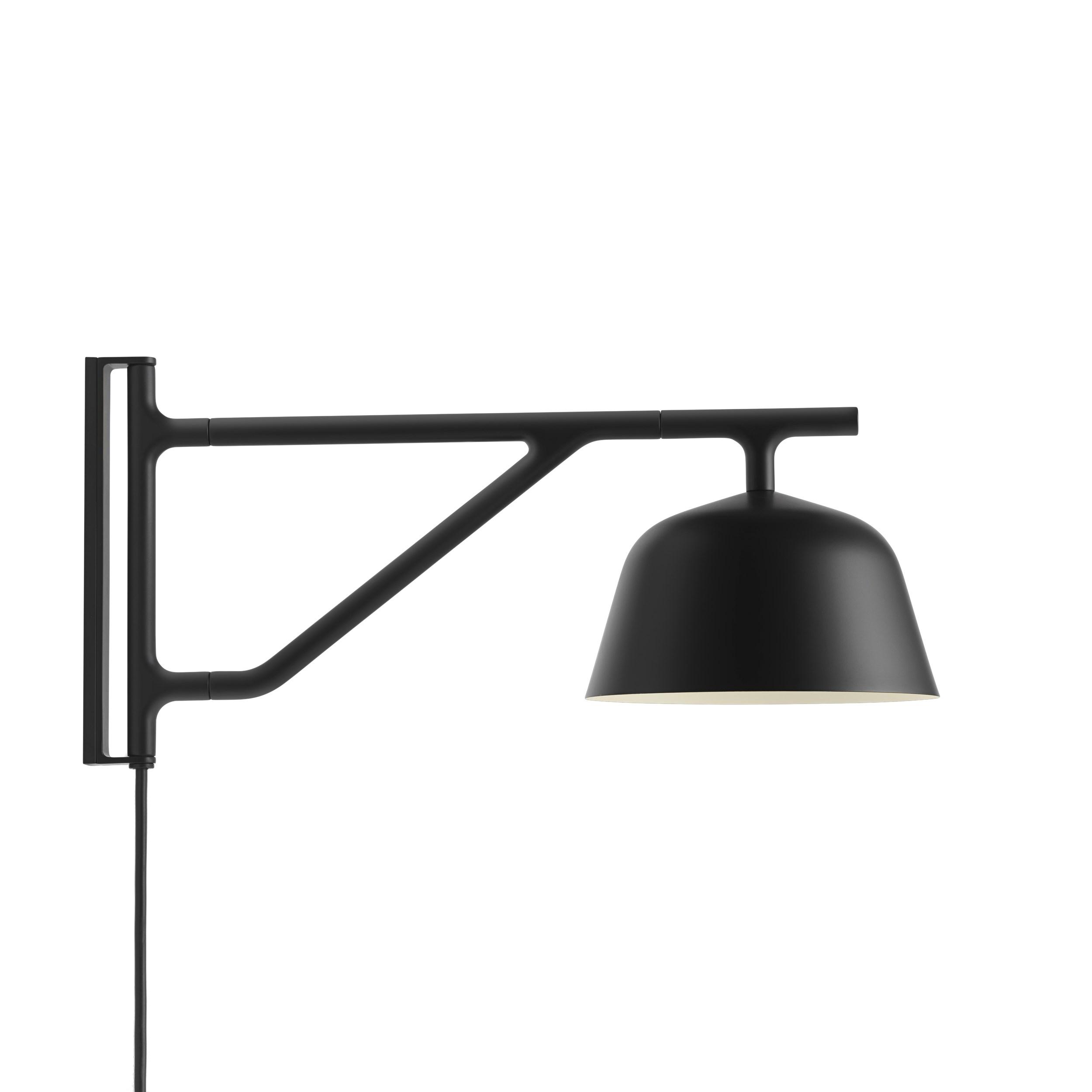 Ambit wall lamp black