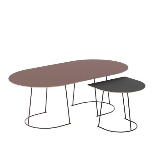 Muuto Airy Coffee Table Half Size Black