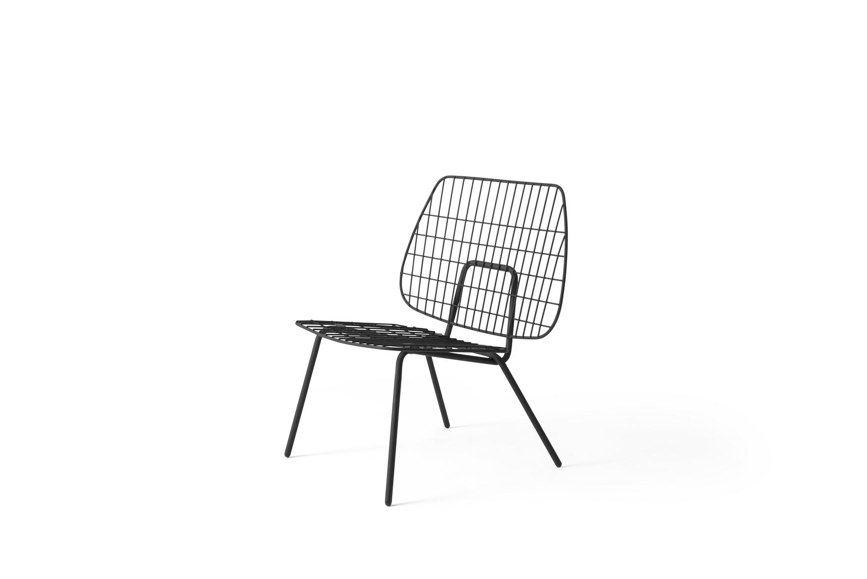 Mernu WM String Lounge Chair Black