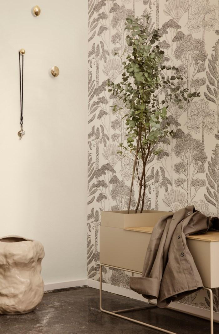 Ferm Living Plant Box Large light Grey